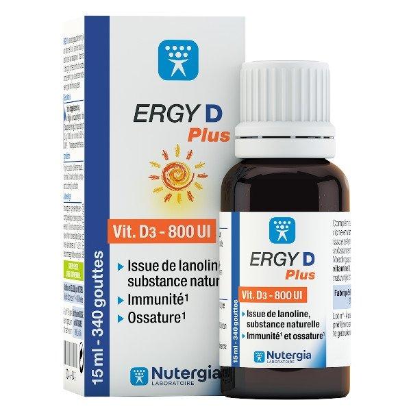 Nutergia Ergy D Plus 15ml