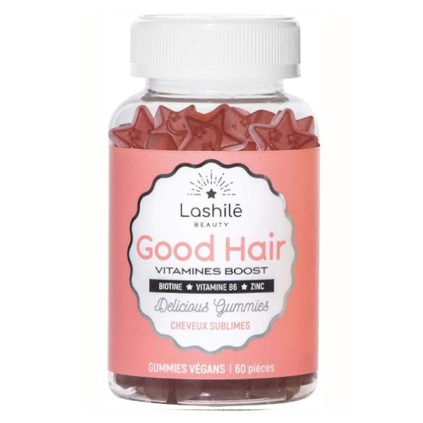 Lashile Beauty Good Hair Cheveux Sublimes 60 Gummies